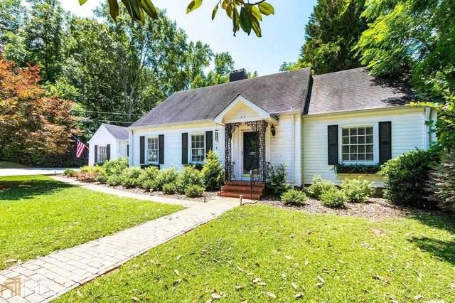 413 Walton Street, Monroe, GA 30655 (MLS #9002419) :: Scott Fine Homes at Keller Williams First Atlanta