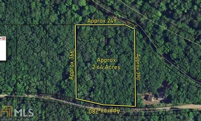0 Mountain Ridge Dr Lot 8 & 9, Waverly Hall, GA 31831 (MLS #9009395) :: Team Cozart