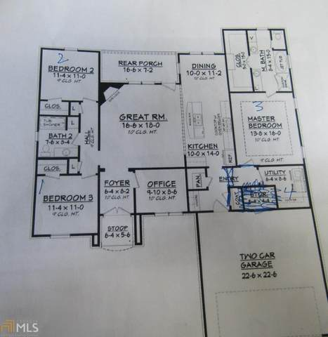 224 Shiloh Drive, Brooklet, GA 30415 (MLS #9011022) :: Statesboro Real Estate