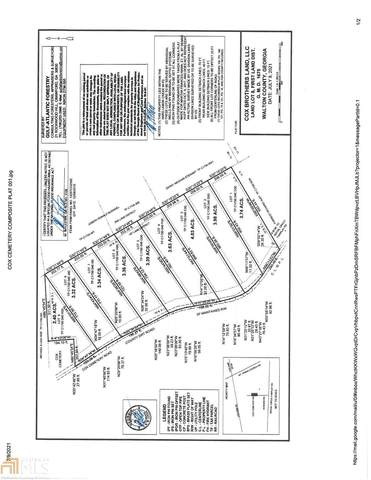 0 Cox Cemetery Rd 9 Lot 1, Social Circle, GA 30025 (MLS #9013019) :: The Cole Realty Group