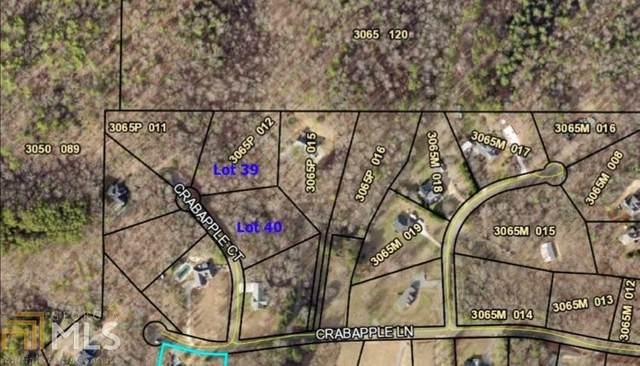 0 Crabapple Court 39,40, Ellijay, GA 30540 (MLS #9026141) :: Michelle Humes Group