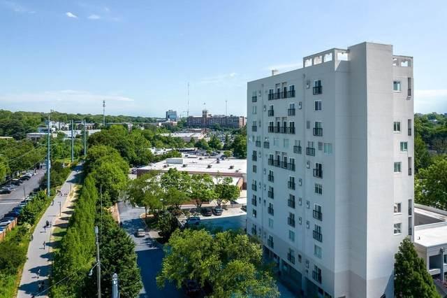 587 Virginia Avenue NE #305, Atlanta, GA 30306 (MLS #9039116) :: Crown Realty Group