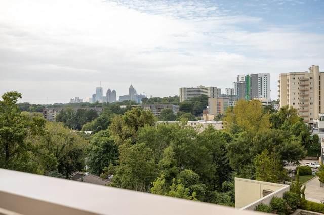 2255 Peachtree Road NE #725, Atlanta, GA 30309 (MLS #9041262) :: Anderson & Associates