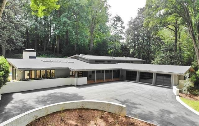 1805 Lenox Road NE, Atlanta, GA 30306 (MLS #9043505) :: Crown Realty Group