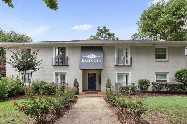 799 Barnett Street NE #8, Atlanta, GA 30306 (MLS #9043797) :: Anderson & Associates
