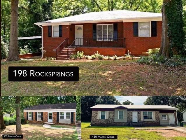 198 Rocksprings Street S, Athens, GA 30606 (MLS #9047975) :: Anderson & Associates