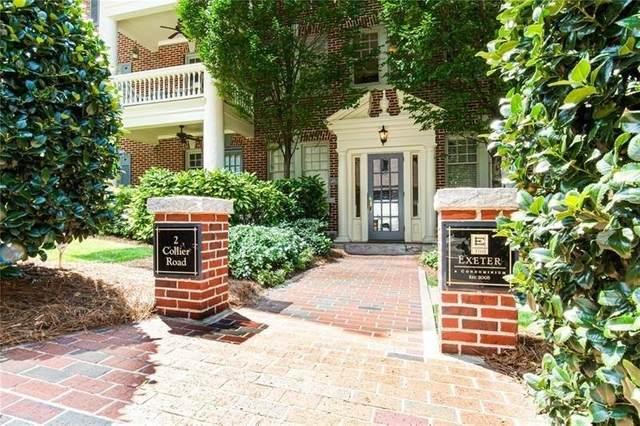 2 Collier Road NW #4, Atlanta, GA 30309 (MLS #9049839) :: Houska Realty Group