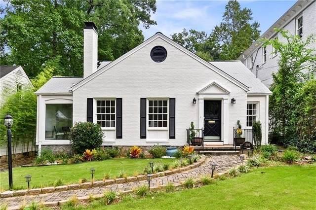 1191 Lanier Boulevard NE, Atlanta, GA 30306 (MLS #9055556) :: EXIT Realty Lake Country