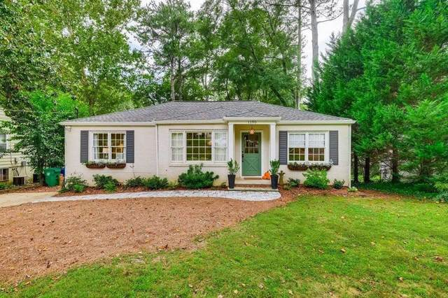 1190 Vista Trail NE, Atlanta, GA 30324 (MLS #9055578) :: AF Realty Group