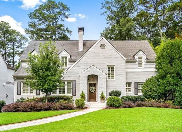 1732 Johnson Road NE, Atlanta, GA 30306 (MLS #9055834) :: Scott Fine Homes at Keller Williams First Atlanta