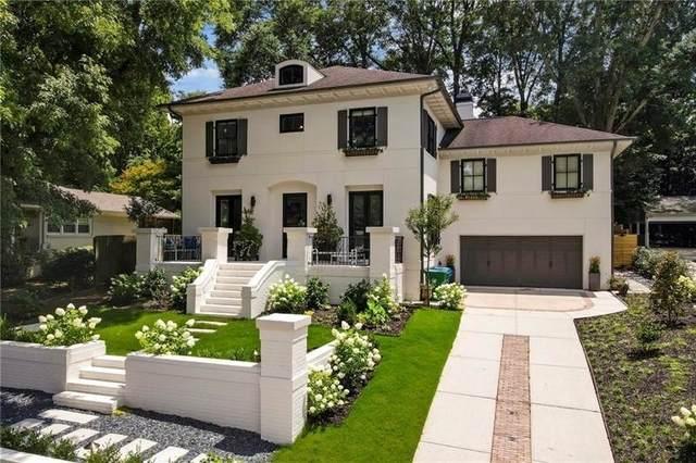 1361 Normandy Drive NE, Atlanta, GA 30306 (MLS #9056179) :: Scott Fine Homes at Keller Williams First Atlanta