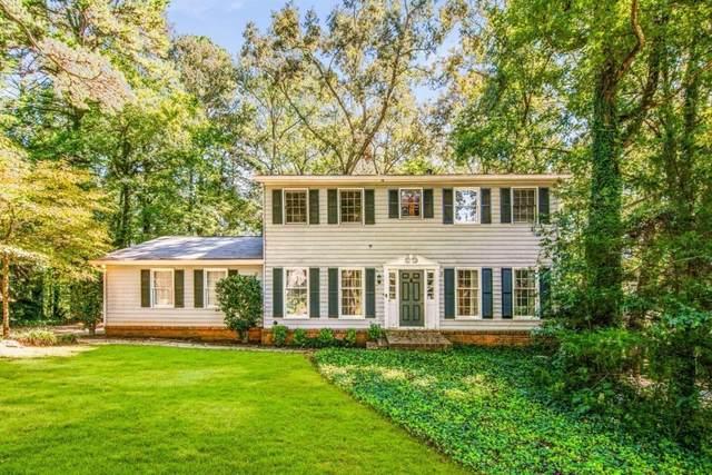 1672 Briarbend Court, Stone Mountain, GA 30088 (MLS #9056777) :: Scott Fine Homes at Keller Williams First Atlanta