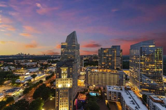 3324 Peachtree Road NE #2716, Atlanta, GA 30326 (MLS #9060014) :: Statesboro Real Estate