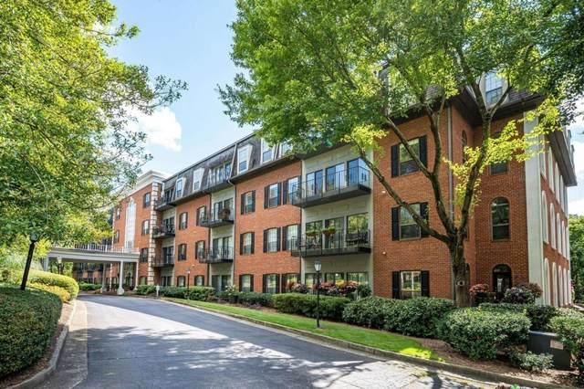 2921 Lenox Road NE #411, Atlanta, GA 30324 (MLS #9061940) :: Statesboro Real Estate