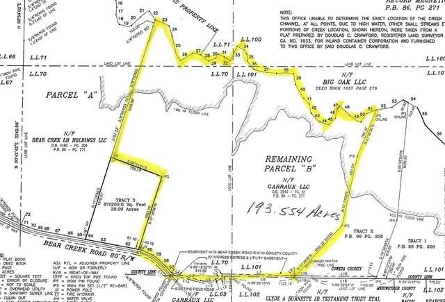 0 Bear Creek Road, Moreland, GA 30259 (MLS #9063828) :: Maximum One Realtor Partners