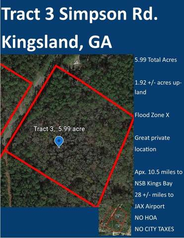 0 Simpson Road Tract 3, Kingsland, GA 31548 (MLS #9064021) :: Military Realty