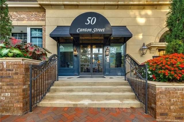 50 Canton Street #207, Alpharetta, GA 30009 (MLS #9065191) :: RE/MAX One Stop