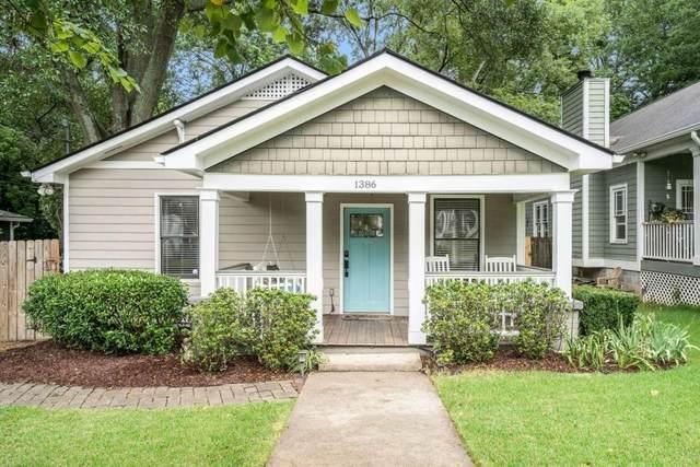 1386 Newton Avenue SE, Atlanta, GA 30316 (MLS #9065262) :: EXIT Realty Lake Country