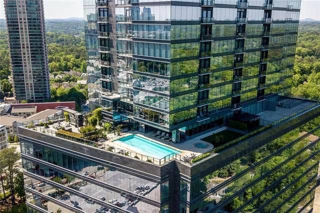 3630 Peachtree Road NE #2703, Atlanta, GA 30326 (MLS #9065311) :: Statesboro Real Estate