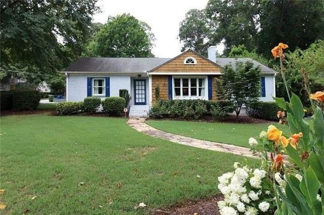 1554 Steele Drive NW, Atlanta, GA 30309 (MLS #9066451) :: AF Realty Group