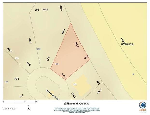 235 Beracah Walk SW, South Fulton, GA 30331 (MLS #9067169) :: Regent Realty Company