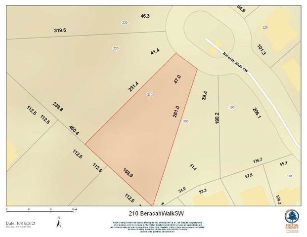 210 Beracah Walk SW, South Fulton, GA 30331 (MLS #9067181) :: Regent Realty Company