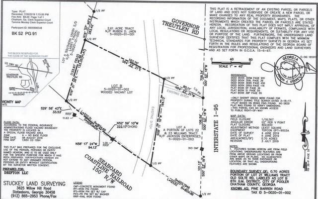 0 Pine Barren Road, Pooler, GA 31322 (MLS #9067327) :: Statesboro Real Estate