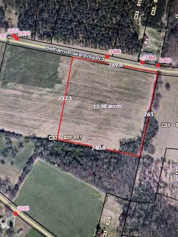 0 Bethany-Bowersville Road, Canon, GA 30520 (MLS #9067367) :: Statesboro Real Estate