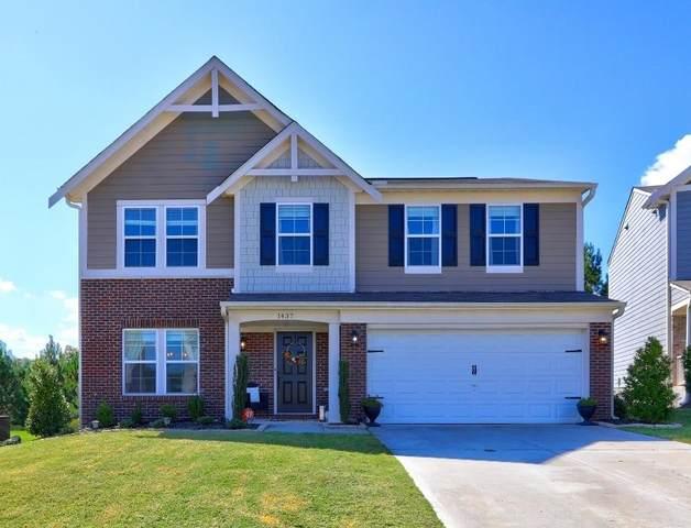 1437 Hedgeview Way, Sugar Hill, GA 30518 (MLS #9068611) :: Statesboro Real Estate