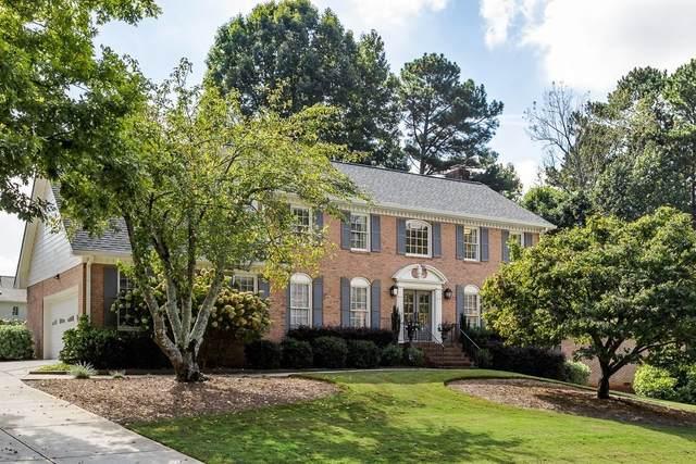 6166 Courtside Drive, Peachtree Corners, GA 30092 (MLS #9070231) :: Scott Fine Homes at Keller Williams First Atlanta
