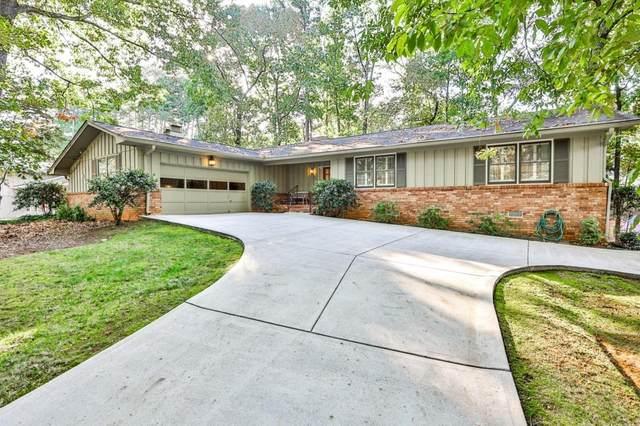 2311 Riverglenn Circle, Dunwoody, GA 30338 (MLS #9070514) :: Scott Fine Homes at Keller Williams First Atlanta