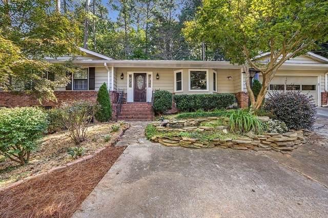 2730 E Sudbury Court, Dunwoody, GA 30360 (MLS #9071172) :: Scott Fine Homes at Keller Williams First Atlanta