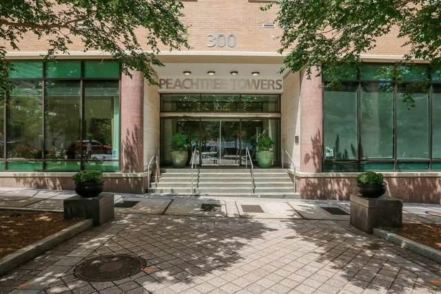 300 W Peachtree Street 15 O, Atlanta, GA 30308 (MLS #9071962) :: RE/MAX Eagle Creek Realty