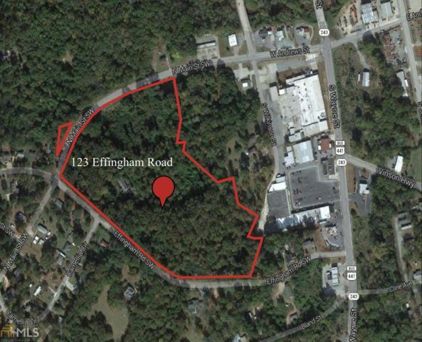 123 Effingham Rd, Milledgeville, GA 31061 (MLS #7107082) :: Athens Georgia Homes