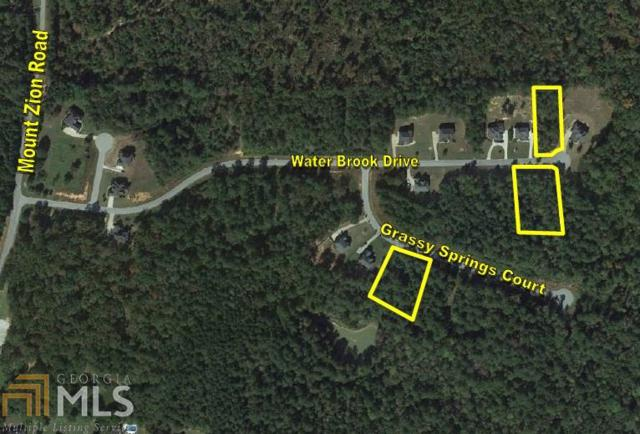 198 Water Brook Dr 3 Lots, Oxford, GA 30054 (MLS #8005554) :: Rettro Group