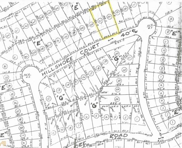 0 Hillshore Ct 20-21, Lavonia, GA 30553 (MLS #8235016) :: Anderson & Associates