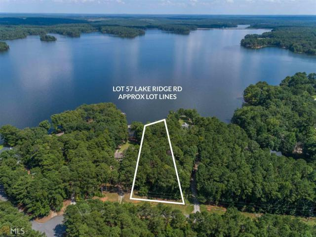 0 Lake Ridge Rd #57, Eatonton, GA 31024 (MLS #8396851) :: Team Cozart