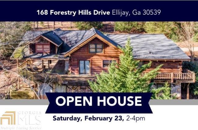 168 Forestry Hills Dr, Ellijay, GA 30540 (MLS #8527162) :: Buffington Real Estate Group