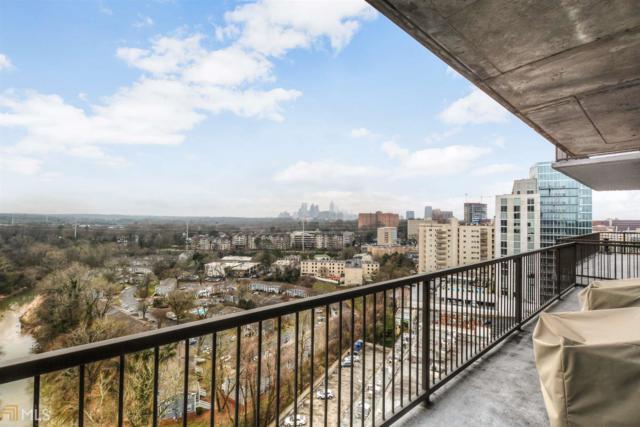 2233 Peachtree #1206, Atlanta, GA 30309 (MLS #8541819) :: Rettro Group