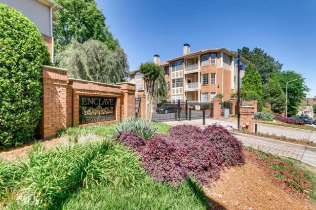 200 Renaissance Pkwy #105, Atlanta, GA 30308 (MLS #8565185) :: DHG Network Athens
