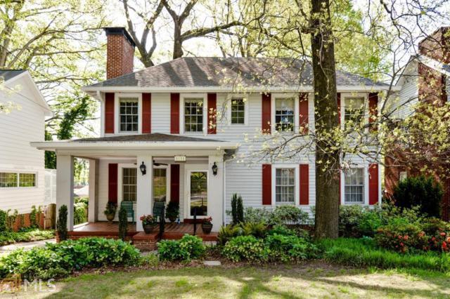 1111 Briarcliff Rd, Atlanta, GA 30306 (MLS #8579141) :: Buffington Real Estate Group