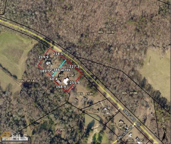 3012 & 3154 Sanford Rd, Nicholson, GA 30565 (MLS #8586165) :: Buffington Real Estate Group