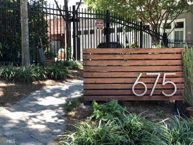 675 Greenwood Ave #116, Atlanta, GA 30306 (MLS #8602846) :: The Heyl Group at Keller Williams