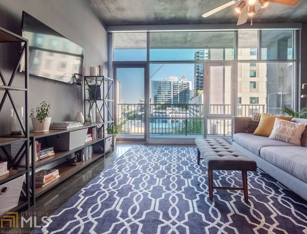 845 Spring St #213, Atlanta, GA 30308 (MLS #8659664) :: The Heyl Group at Keller Williams