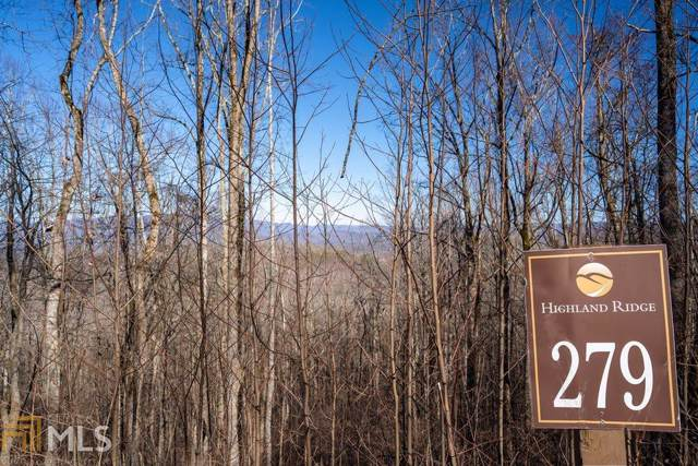 Lot 279 Falling Waters Lot 279, Ellijay, GA 30540 (MLS #8722718) :: Rettro Group