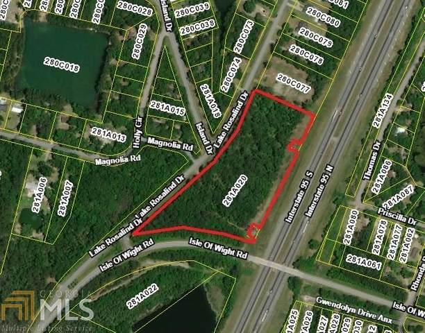 0 Lake Rosalind Drive, Midway, GA 31320 (MLS #8821328) :: Crown Realty Group
