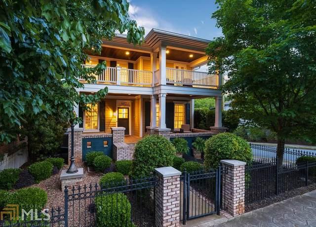 407 N Highland Ave, Atlanta, GA 30307 (MLS #8844014) :: Crown Realty Group