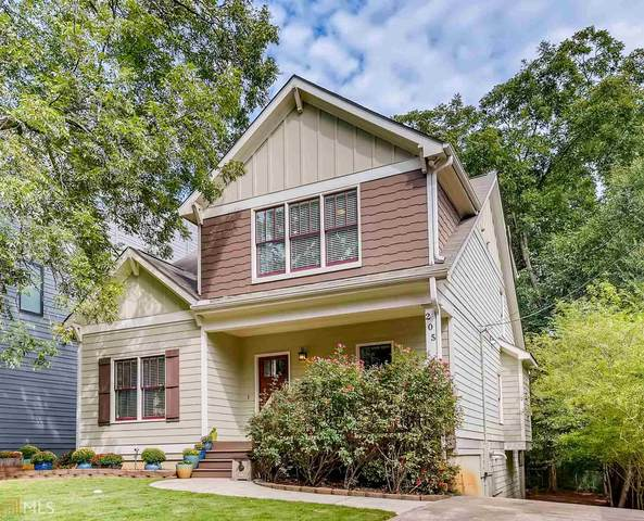205 Lowry St, Atlanta, GA 30307 (MLS #8862989) :: Crown Realty Group