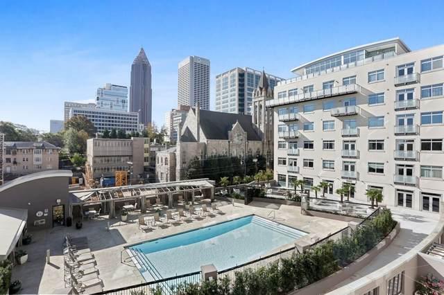 805 Peachtree St #304, Atlanta, GA 30308 (MLS #8898653) :: Buffington Real Estate Group