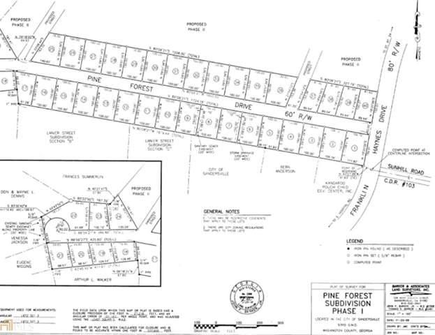 105 Pine Forest Drive #3, Sandersville, GA 31082 (MLS #8909621) :: Rettro Group